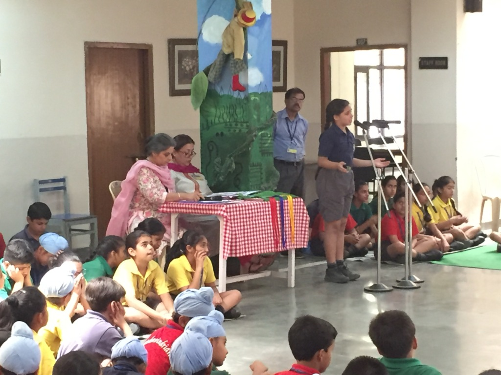 Junior School English Poetry Recitation Competition The Yadavindra